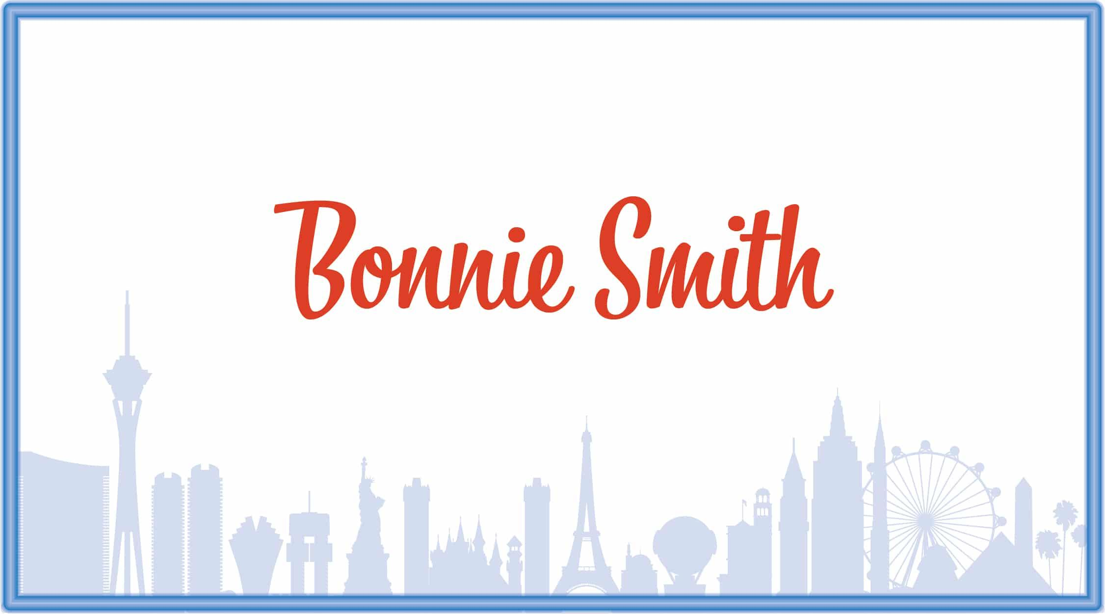 Smith, Bonnie