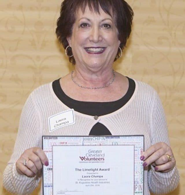 St. Augustine Volunteer Receives Limelight Award